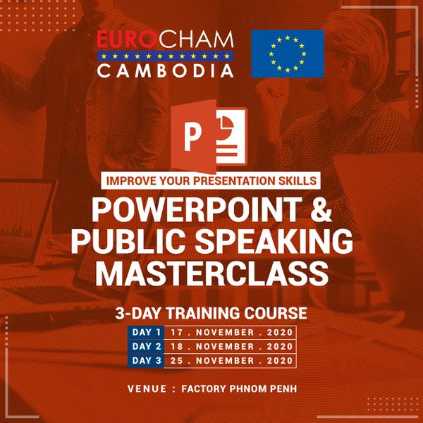 Powerpoint & Public Speaking Masterclass