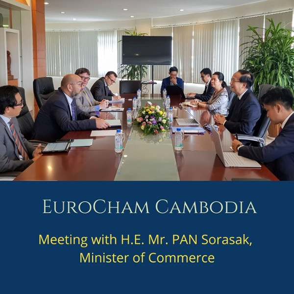 Meeting with H.E. Mr. PAN Sorasak, Minister of Commerce