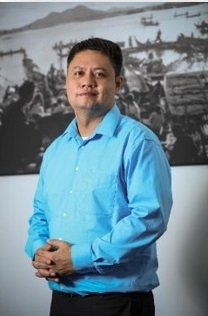Francis Palomares JR, General Manager of Indochina Research (Cambodia)