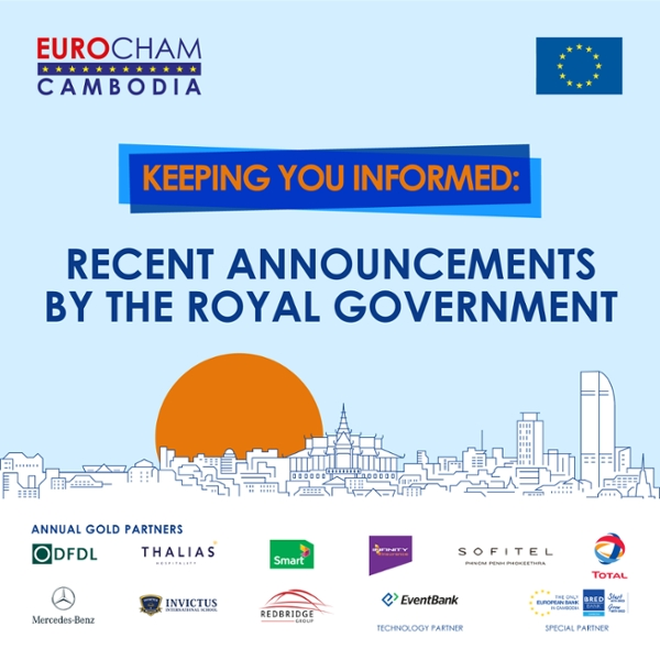 Recent Announcements by the Royal Government
