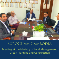 Meeting with His Excellency Dr. Pen Sophal, Secretary of State at the Ministry of Land Management, Urban Planning and Construction