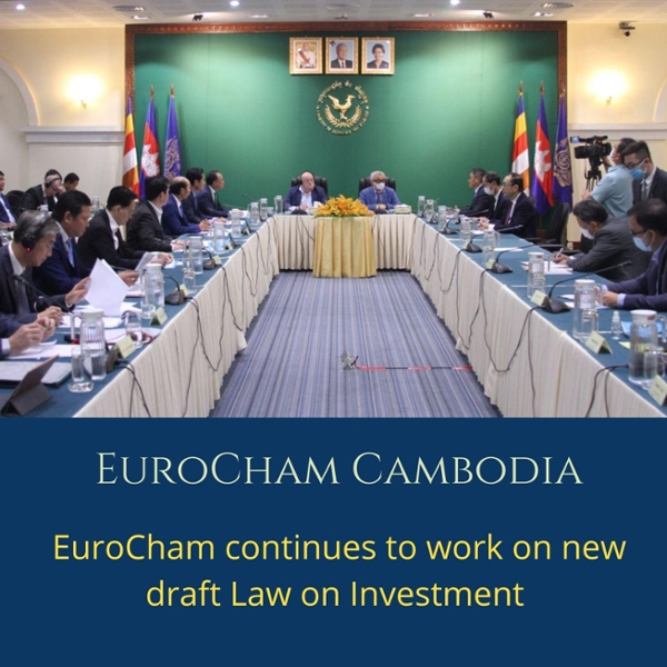 EuroCham continues to work on new draft Law on Investment