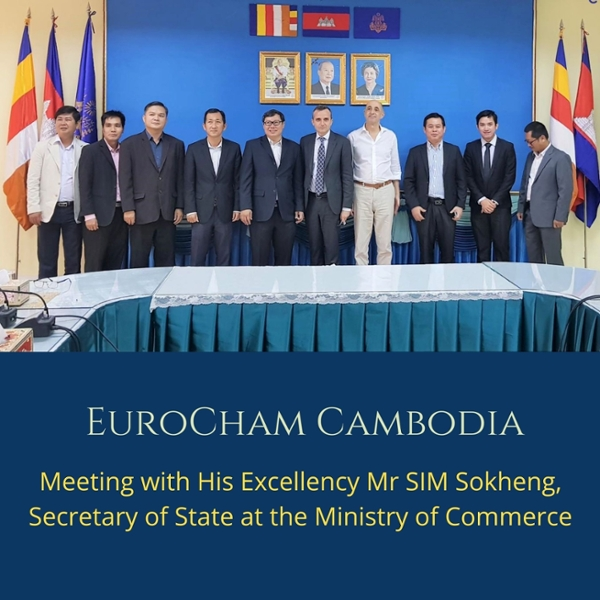 Meeting with His Excellency Mr SIM Sokheng, Secretary of State at the Ministry of Commerce