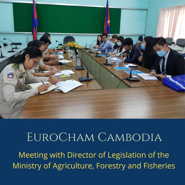 Meeting with Director of Legislation of the Ministry of Agriculture, Forestry and Fisheries