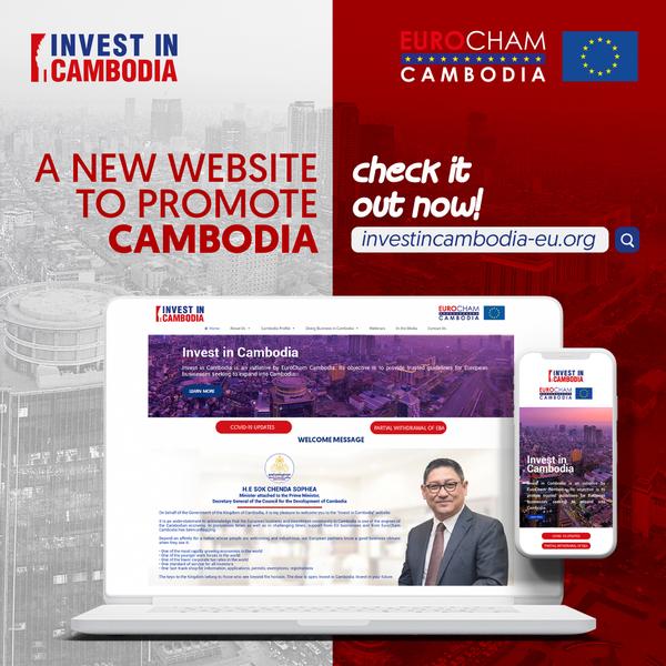 New Website to Promote Cambodia: investincambodia-eu.org