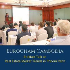 Breakfast Talk on Real Estate Market Trends in Phnom Penh