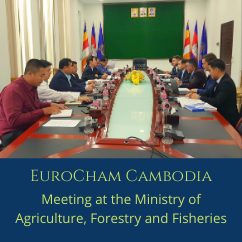 Meeting with H.E. Mr. Hong Narith, Under Secretary of State at the Ministry of Agriculture, Forestry and Fisheries